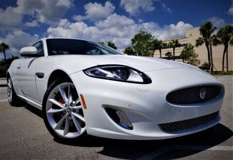 2014 Jaguar XK for sale at Progressive Motors in Pompano Beach FL