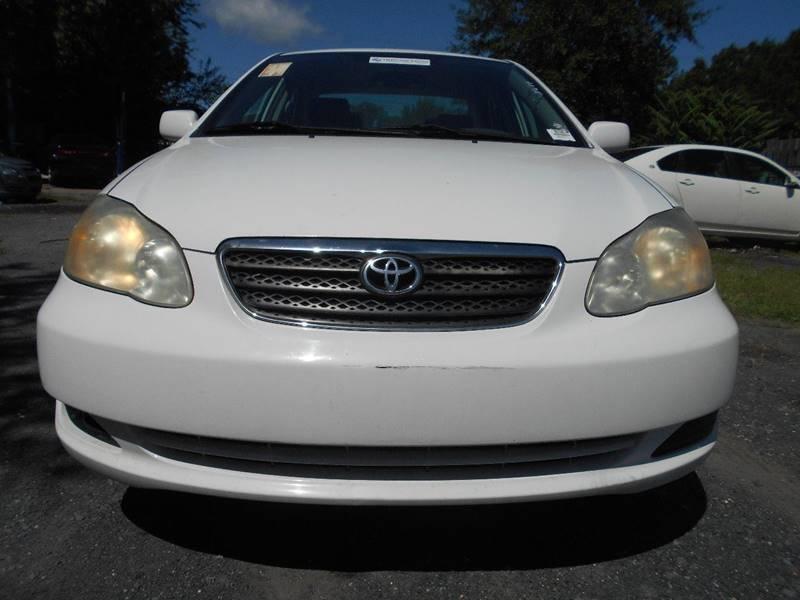 2008 Toyota Corolla LE 4dr Sedan 4A   North Charleston SC