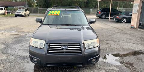 2008 Subaru Forester for sale at Auto Mart in North Charleston SC