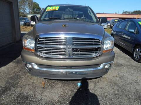 2006 Dodge Ram Pickup 1500 for sale at Auto Mart in North Charleston SC
