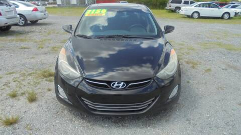 2013 Hyundai Elantra for sale at Auto Mart - Moncks Corner in Moncks Corner SC