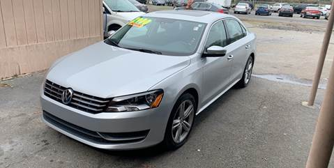 2014 Volkswagen Passat for sale at Auto Mart in North Charleston SC