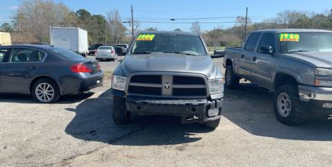 2012 RAM Ram Pickup 1500 for sale at Auto Mart in North Charleston SC