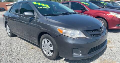 2012 Toyota Corolla for sale at Auto Mart in North Charleston SC