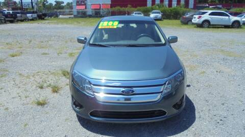 2012 Ford Fusion for sale at Auto Mart - Moncks Corner in Moncks Corner SC
