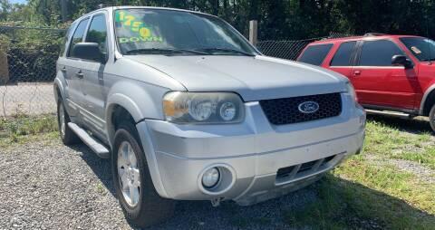 2007 Ford Escape for sale at Auto Mart in North Charleston SC