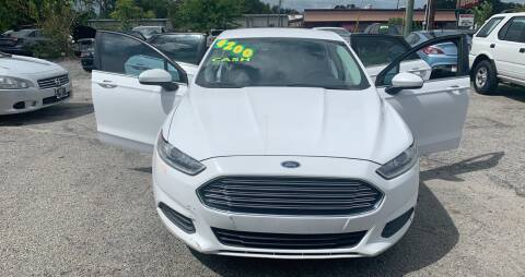2013 Ford Fusion for sale at Auto Mart in North Charleston SC