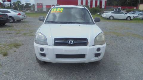 2007 Hyundai Tucson for sale at Auto Mart - Moncks Corner in Moncks Corner SC