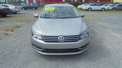 2012 Volkswagen Passat for sale at Auto Mart - Moncks Corner in Moncks Corner SC