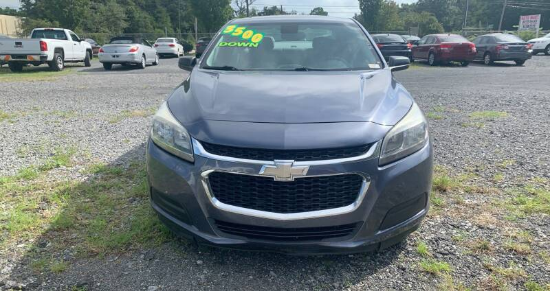 2015 Chevrolet Malibu for sale at Auto Mart in North Charleston SC