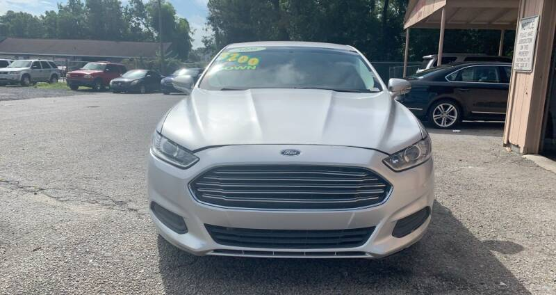 2016 Ford Fusion for sale at Auto Mart in North Charleston SC
