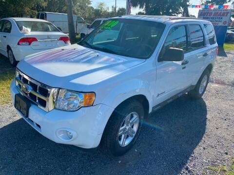 2011 Ford Escape Hybrid for sale at Auto Mart - Dorchester in North Charleston SC