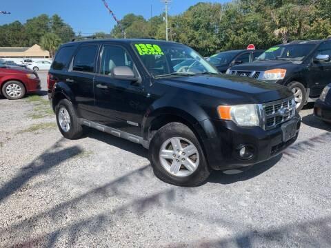 2008 Ford Escape Hybrid for sale at Auto Mart - Dorchester in North Charleston SC