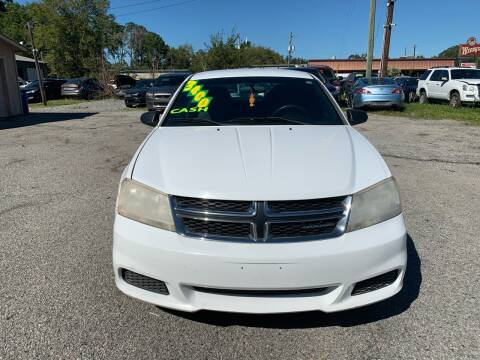 2012 Dodge Avenger for sale at Auto Mart in North Charleston SC