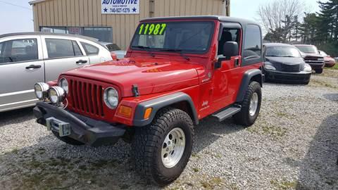 2006 Jeep Wrangler for sale in Pataskala, OH