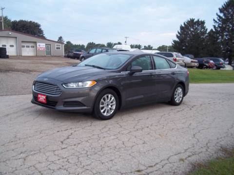 2016 Ford Fusion for sale in Shullsburg, WI
