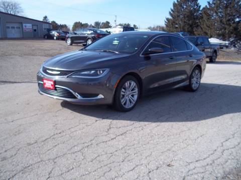 2015 Chrysler 200 Limited for sale at SHULLSBURG AUTO in Shullsburg WI