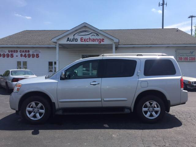2011 Nissan Armada for sale at ROUTE 6 AUTOMAX - THE AUTO EXCHANGE in Harvey IL