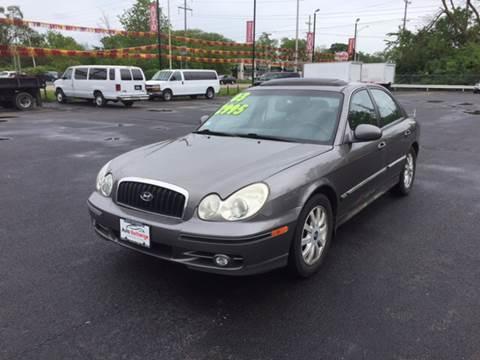 2003 Hyundai Sonata for sale at ROUTE 6 AUTOMAX in Markham IL