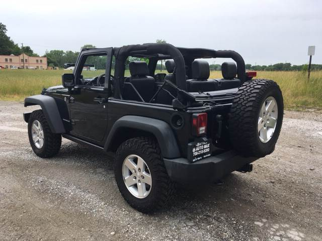 2009 Jeep Wrangler for sale at ROUTE 6 AUTOMAX in Markham IL