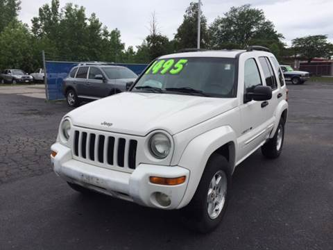 2003 Jeep Liberty for sale at ROUTE 6 AUTOMAX in Markham IL