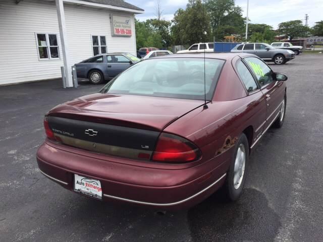 1999 Chevrolet Monte Carlo for sale at ROUTE 6 AUTOMAX in Markham IL