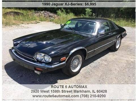 1990 Jaguar XJ-Series for sale at ROUTE 6 AUTOMAX in Markham IL