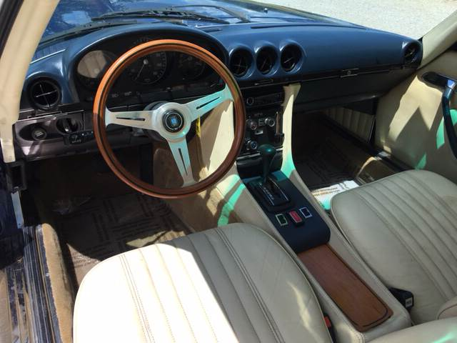 1974 Mercedes-Benz 450 SL for sale at ROUTE 6 AUTOMAX in Markham IL
