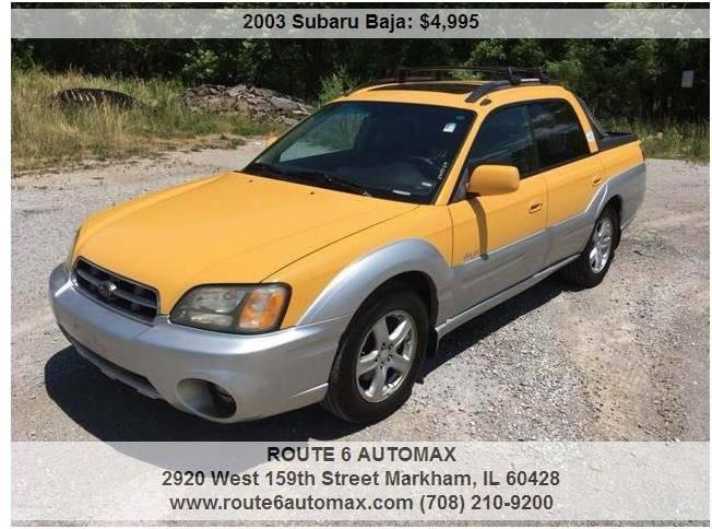 2003 Subaru Baja for sale at ROUTE 6 AUTOMAX in Markham IL