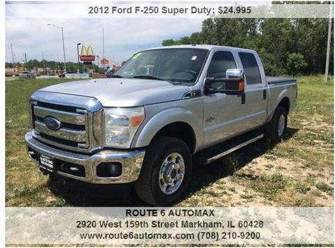 2012 Ford F-250 Super Duty for sale at ROUTE 6 AUTOMAX in Markham IL