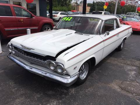 1962 Chevrolet Impala for sale at ROUTE 6 AUTOMAX in Markham IL