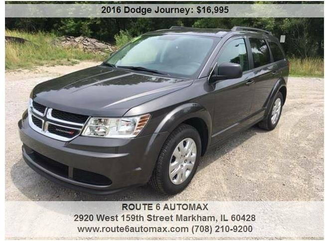 2016 Dodge Journey for sale at ROUTE 6 AUTOMAX in Markham IL