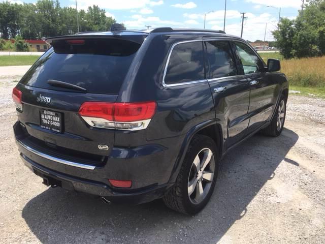 2015 Jeep Grand Cherokee for sale at ROUTE 6 AUTOMAX in Markham IL
