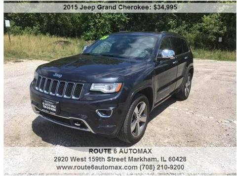 2015 Jeep Grand Cherokee for sale at ROUTE 6 AUTOMAX in Markham IL