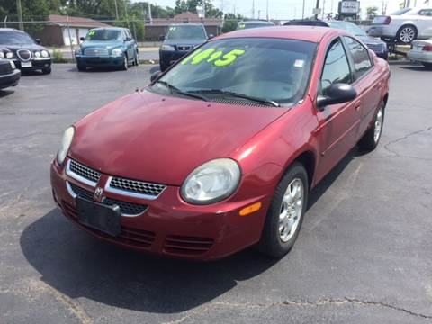 2003 Dodge Neon for sale at ROUTE 6 AUTOMAX in Markham IL