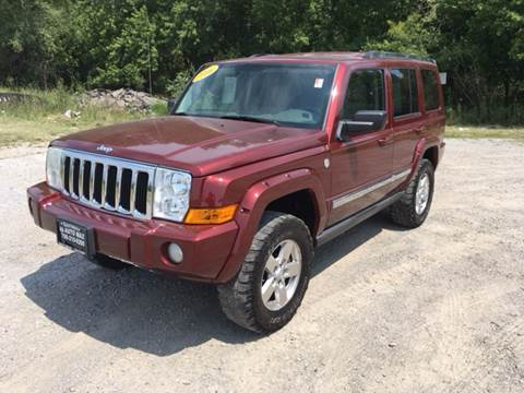 2006 Jeep Commander for sale at ROUTE 6 AUTOMAX in Markham IL