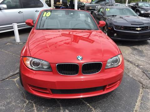 2010 BMW 1 Series for sale at ROUTE 6 AUTOMAX in Markham IL