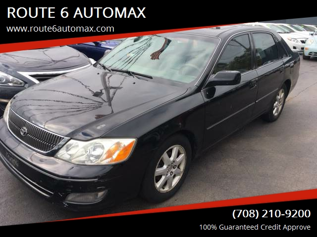 2000 Toyota Avalon For Sale At ROUTE 6 AUTOMAX In Markham IL