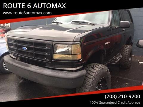 1992 Ford Bronco for sale in Markham, IL
