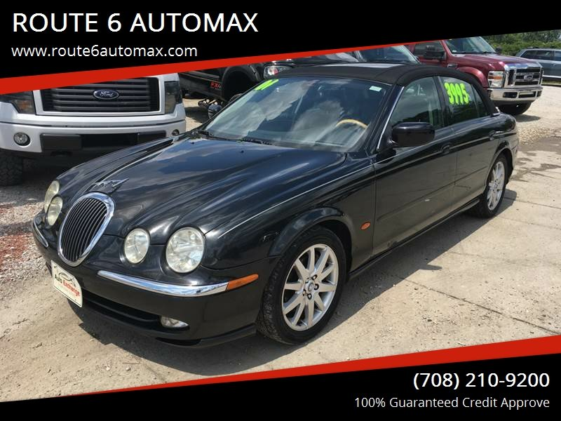 2001 Jaguar S Type For Sale At ROUTE 6 AUTOMAX In Markham IL