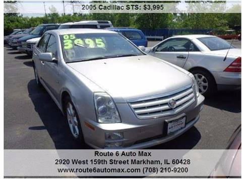 2005 Cadillac STS for sale at ROUTE 6 AUTOMAX - THE AUTO EXCHANGE TRADE LOT in Harvey IL