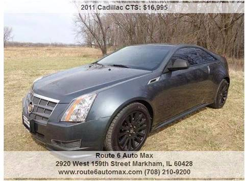2011 Cadillac CTS for sale at ROUTE 6 AUTOMAX in Markham IL