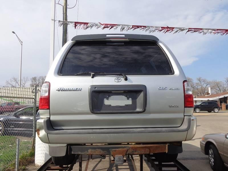 2001 Toyota 4Runner for sale at ROUTE 6 AUTOMAX - THE AUTO EXCHANGE TRADE LOT in Harvey IL
