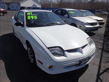 2001 Pontiac Sunfire for sale at ROUTE 6 AUTOMAX - THE AUTO EXCHANGE TRADE LOT in Harvey IL