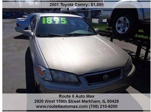 2001 Toyota Camry for sale at ROUTE 6 AUTOMAX - THE AUTO EXCHANGE TRADE LOT in Harvey IL