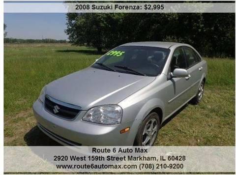 2008 Suzuki Forenza for sale at ROUTE 6 AUTOMAX in Markham IL