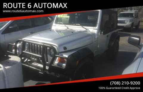 2002 Jeep Wrangler for sale in Markham, IL