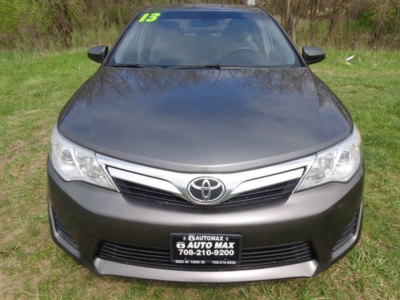 2013 Toyota Camry for sale at ROUTE 6 AUTOMAX in Markham IL
