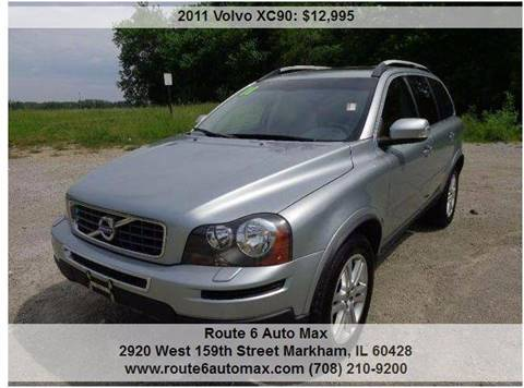 2011 Volvo XC90 for sale at ROUTE 6 AUTOMAX in Markham IL