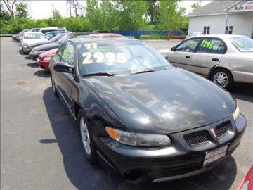 1997 Pontiac Grand Prix for sale at ROUTE 6 AUTOMAX - THE AUTO EXCHANGE TRADE LOT in Harvey IL